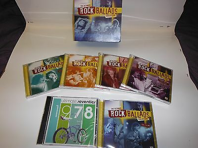 TIME LIFE THE ULTIMATE ROCK BALLADS COLLECTION (9 CD SET) New