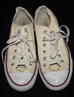 Converse All Star Shoes White Canvas Size Men's 5