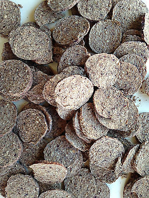 1kg KANGAROO ROOLAMI JERKY BISCUIT. AIR DRIED HEALTHY CHEW/TREAT 4 PET DOG.