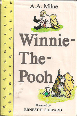WINNIE THE POOH by A.A. MILNE #1 Hardcover 1993 Vintage Illustrated