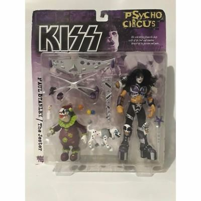 KISS Psycho Circus Paul Stanley Jester 1998 Action Figure Mcfarlane Toys