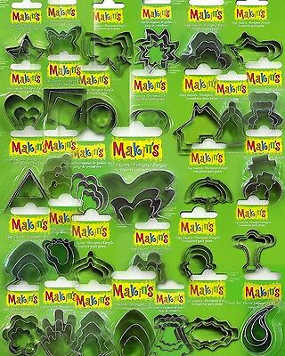 Makins 3pce Cutter Sets - Multiple Shapes Available
