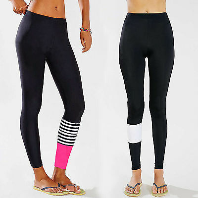 Womens Fitness YOGA Workout Gym Pants Leggings High Waisted Trousers Sportswear