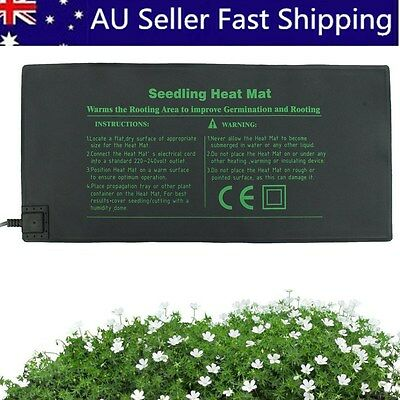 52x25cm Propagation Seedling Heat Mat Seed Starter Cloning Warm Pad Germination