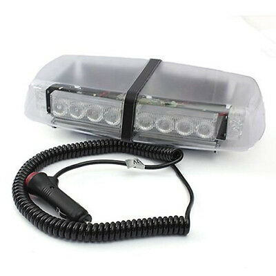 Sy 24W Amber Led Emergency Recovery Strobe Flashing Light Bar Magnetic Beacon