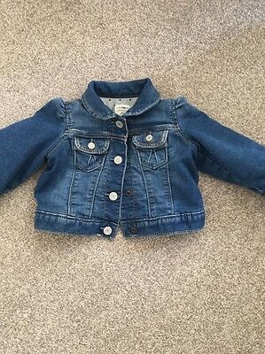 Baby Gap Denim Jacket 6-12 Months  RRP £25