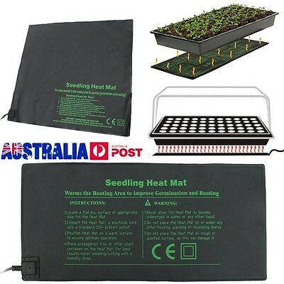 Hot Seedling Heat Mat Plant Seed Germination Propagation Clone Starter Pad S M L