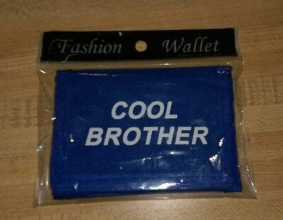 Cool Brother Blue Wallet New in Package