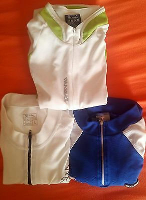 3 maillot ciclismo inverse, nalini y spiuk