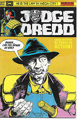 Judge Dredd #35 (1986 Quality Comics, vf- 7.5) full colour, 32 pages