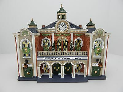 Dept 56 Christmas in the City Grand Central Railway Station #58881 New