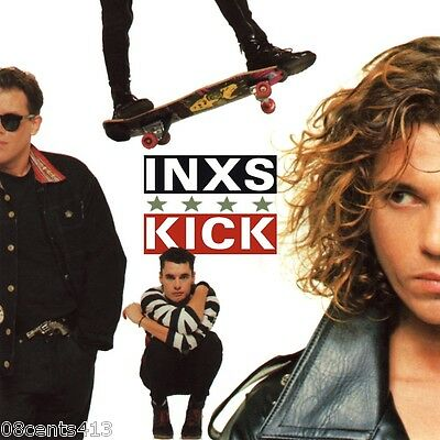 "Kick by INXS (CD) ""Guns in the Sky"", ""New Sensation"", ""Devil Inside"", ""Mediate"""