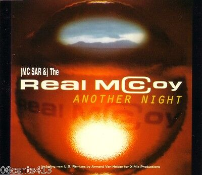 Another Night by The Real McCoy (CD) Radio, Club, House & Armand's Mix!