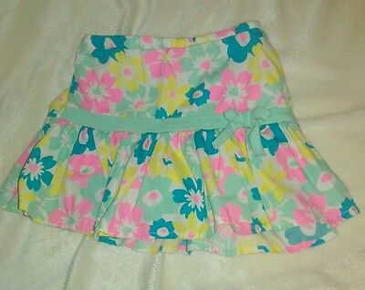 Girl's Size 2T Skirt with Shorts attached Flowers by Disney