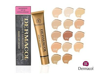 Dermacol High Cover Make Up Foundation Legendary Film Studio Hypoallergenic Nice