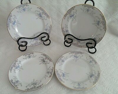 Imperial China W Dalton Japan Seville 5303 Set Of 4 Dessert Bread Butter Plates