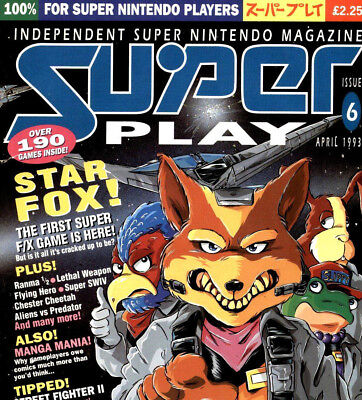SUPER PLAY Magazine Complete on DVD Vintage Nintendo SNES Gaming All Volumes