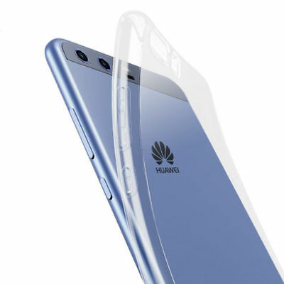 Slim Clear Soft TPU Phone Back Case Cover for Huawei P10 / P10 Plus