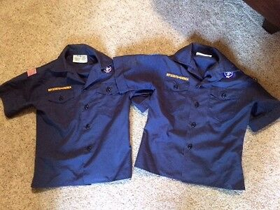 2 BSA Cub Scout Shirts (Youth Small) pre-owned