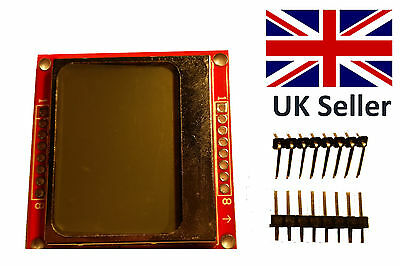 Nokia 5110 LCD display- For Arduino, Raspberry Pi, PIC etc.