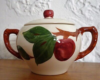 Franciscan APPLE Sugar Bowl with Lid Dinnerware Made in England