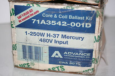 Advance 71A3542-001D Core Coil Ballast Kit Single 250W Mercury H-37