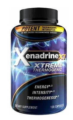 Xenadrine XT Extreme Intensifier Fat Burner 120 capsules for weight loss