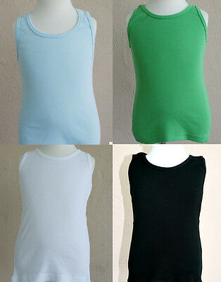 New Tank Top T-Shirt Blanks American Apparel Toddler child youth Boy Girl tee