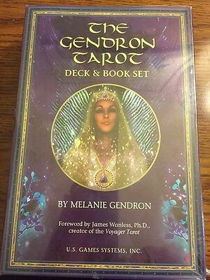The Gendron Tarot Deck And Book Set. OOP.