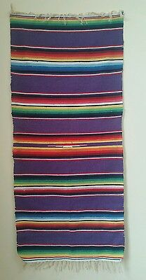 Antique  Mexican Blanket /Tapestry