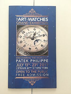 Patek Philippe 2017 NYC Exhibition Coloring Pages & Guide