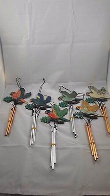 Wind Chime Parrot New Bird Windchime Parrots Chimes Garden