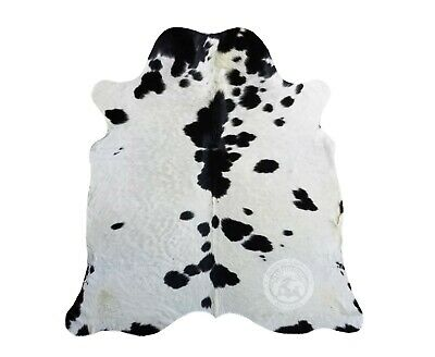 New  Brazilian DYED BLACK COWHIDE RUG 6'x8' Leather Cow Skin Cowhide Upholstery