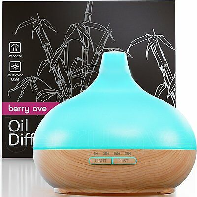 Berry Ave Aroma Therapy Essential Oil Diffuser Ultrasonic Cool Mist Humidifie...