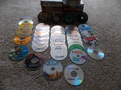 Lot Of 125 Movies And Tv Shows (From Frozen To Fight Club) Priority Shipping Wow