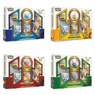 4x Pokemon 20th Red & Blue Collection Boxes + Generations Elite Trainer Box New!