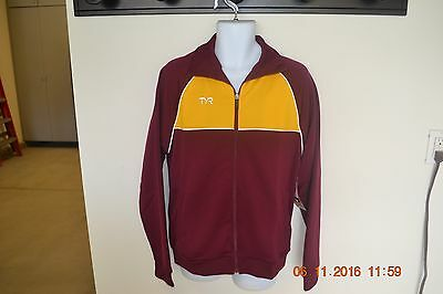 Brand New With Tags Boys Warm Up Top Tyr Size Large (Youth)
