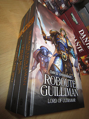 ROBOUTE, LEMAN RUSS and MAGNUS THE RED Warhammer 40K Primach Books 1, 2 & 3 MINT