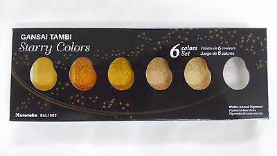 Kuretake ZIG Gansai Tambi Starry Colors 6 Color Set MC20SC/6V Watercolor Paint