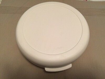 ALADDIN- TEMPERSERVE-INSULATED ROUND 2-Qt-CASSEROLE- HOT OR COLD CARRIER-SERVER