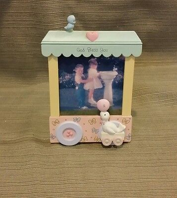 """Precious Moments """"God Bless You"""" Circus Picture Frame thats part of a Train Set"""