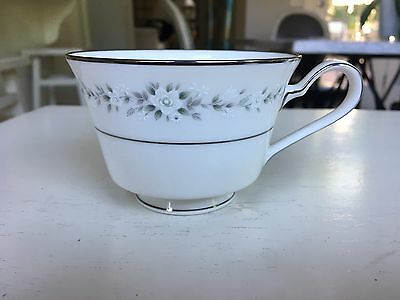 Vintage Noritake China Footed Tea Cup Heather Pattern 7548 Retired Replacement