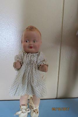"""8"""" Freundlich Character Doll Baby Sandy 1930s"""