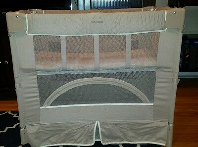 """Arm's Reach Bedside Co-Sleeper Bassinet 20""""x34"""" Portable Carrying"""