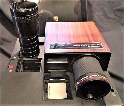 Bell and Howell AF70 Slide Cube System 2 projector