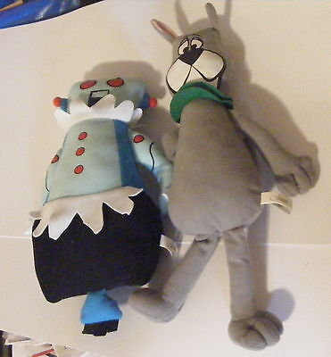 Hanna Barbera The Jetsons Rosie the Robot and Astro the Dog Plush