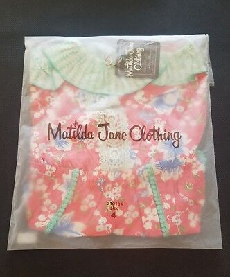 NWT Matilda Jane tropical butterfly romper size 6