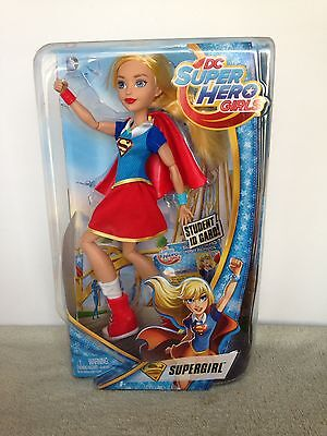 """DC Super Hero Girls Supergirl 12"""" Action Doll Fashion Toy Collectible Comics Kid"""
