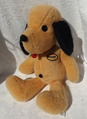 "MINT Vtg 1971 LARGE 23"" Stuffed Animal Fair Tag Plush HENRY Dog Animal Toy WOW!!"