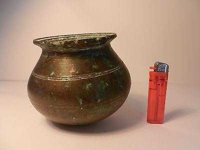 Antique Circa 1800-1870 Buddist Bronze Incense Burner/ceremonial Bowl Censer